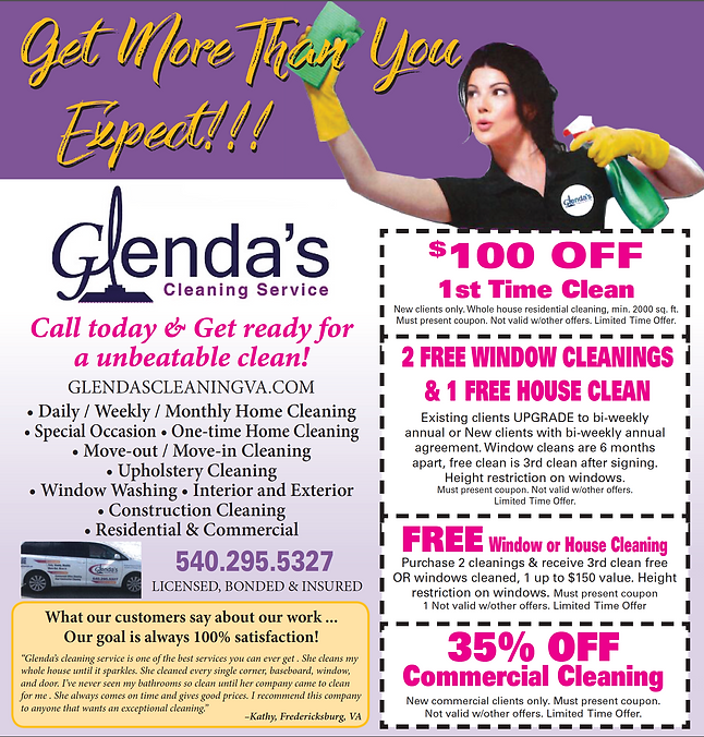 Charming Cleaning Specials In Fredericksburg Va