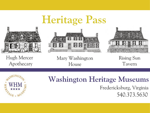 Heritage Pass - Student (Ages 6-18)