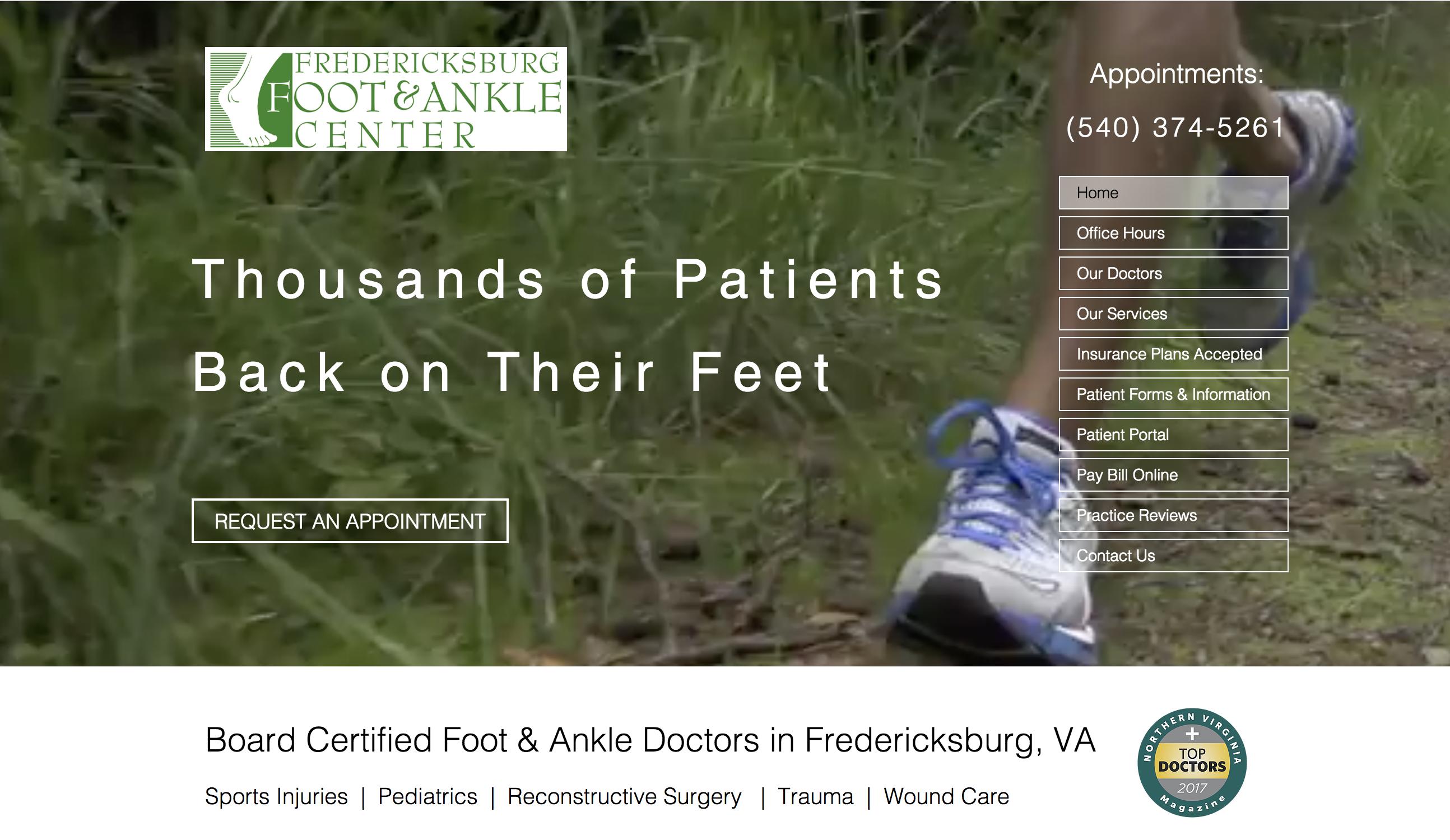 Podiatrist In Fredericksburg Va Fredericksburg Foot Ankle Center