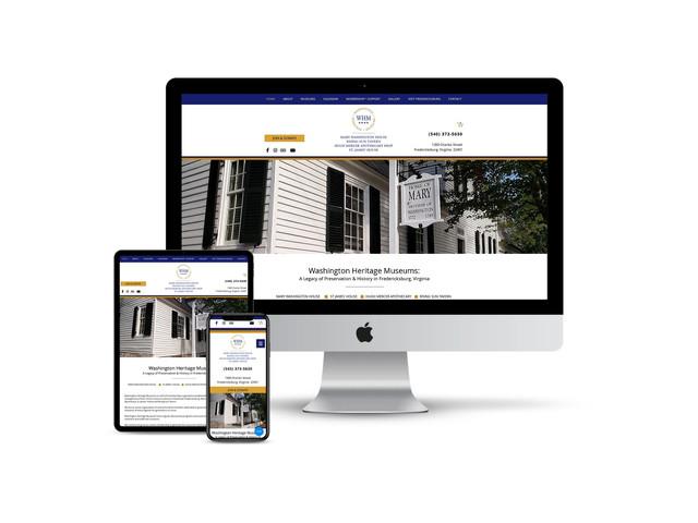 Website Design for Museum