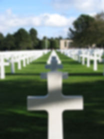 Omaha Cemetery in Normandy, France