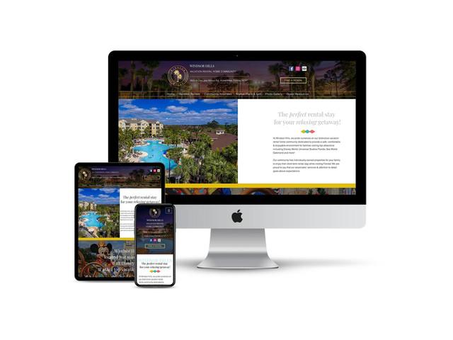 Website Design for Vacation Resort