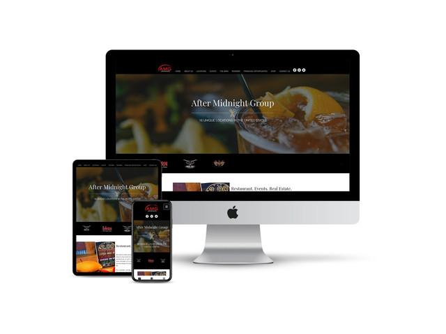 Website Design for Restaurant Group