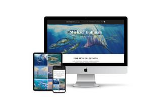 Website Design for Artist