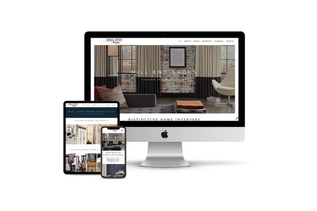 Website Design for Interior Decorator