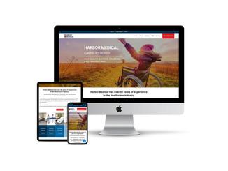 Website Design for Medical Equipment Supplier