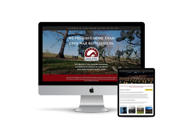 Website Design for Historical Preservation Non-Profit