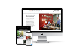Website Design for Insurance Agent
