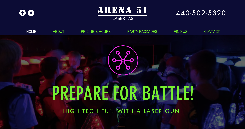 Laser Tag Center Arcade Cleveland Oh Arena 51 Laser Tag