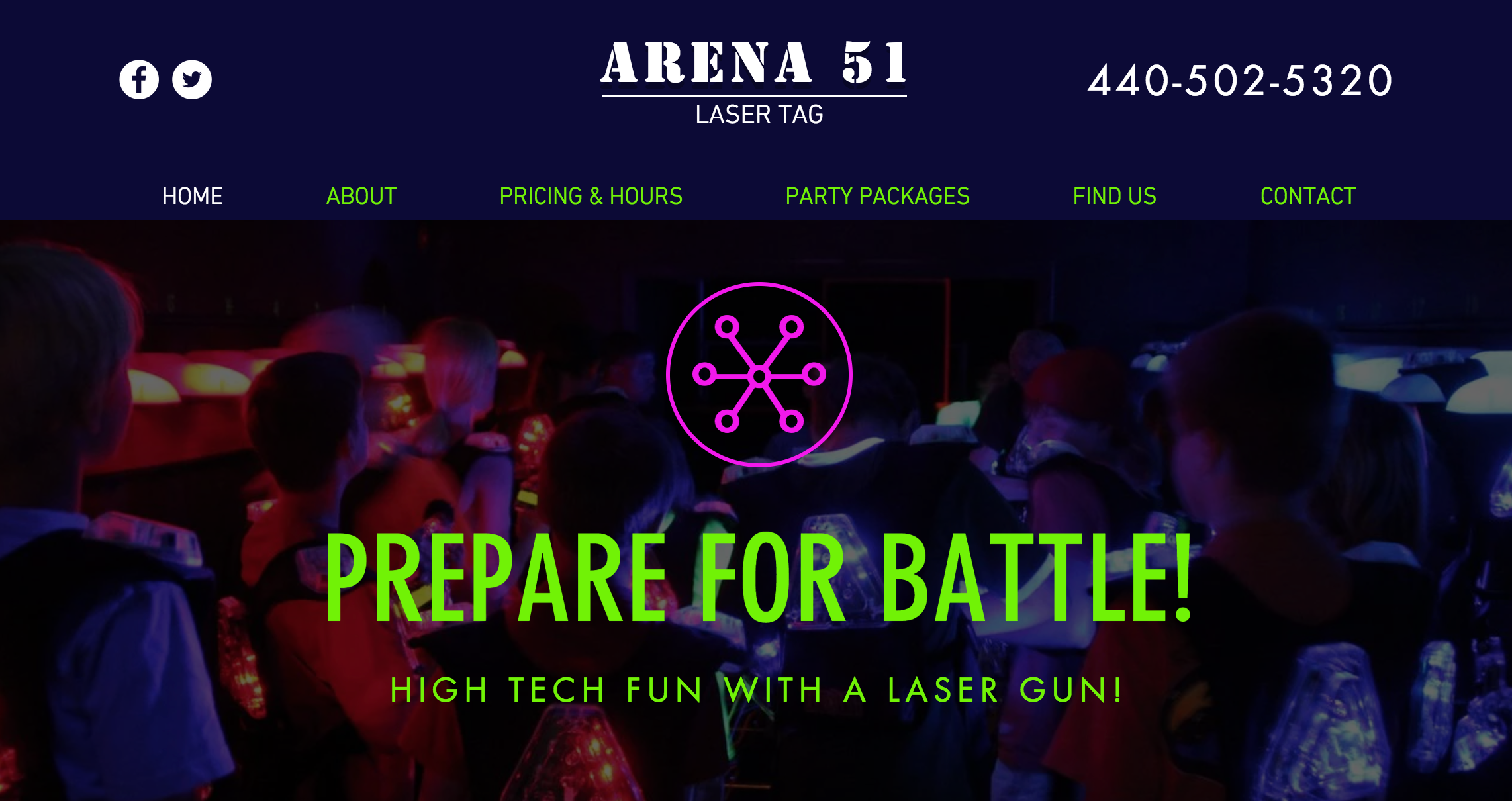 Laser Tag Center Arcade | Cleveland, Ohio | Arena 51 Laser Tag