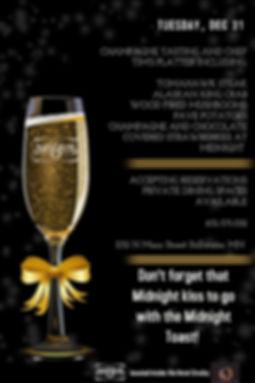 Matchstick Restaurant & Spirits New Years Eve