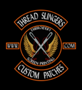Thread Slingers Custom Patches