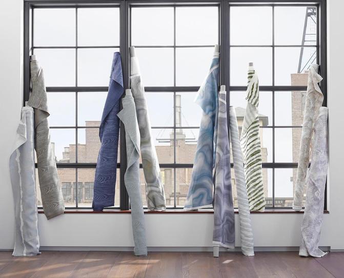 Trending Fabrics. Courtesy of Kravet