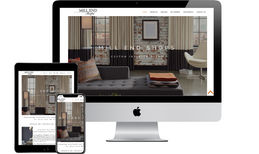 Mill End Shops Custom web design for an interior decorating compa...