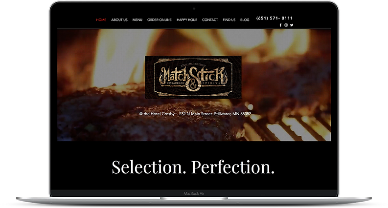 Digital Marketing Web Design Restaurant