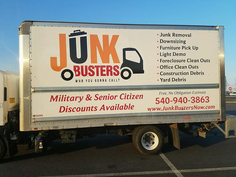 Junk Busters junk removal haul away services