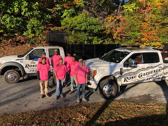 The Rose Gardener Landscaping Fredericksburg Virginia