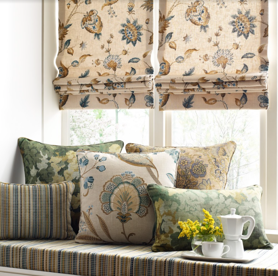 Roman shades Roman Shades Courtesy of Kravet