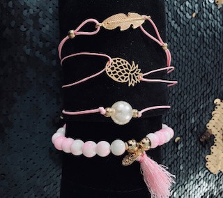 Breast Cancer Awareness Accents - $10.00