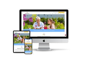 Website Design for Geriatric Care Service