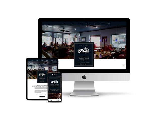 Website Design for Family Restaurant