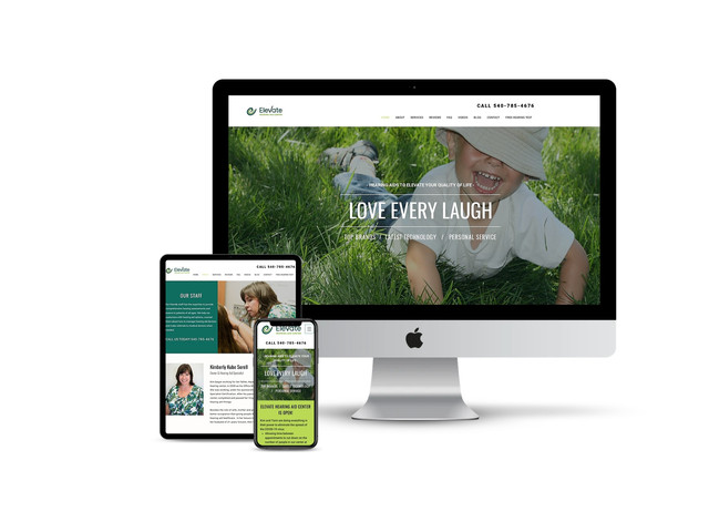 Website Design for Hearing Clinic
