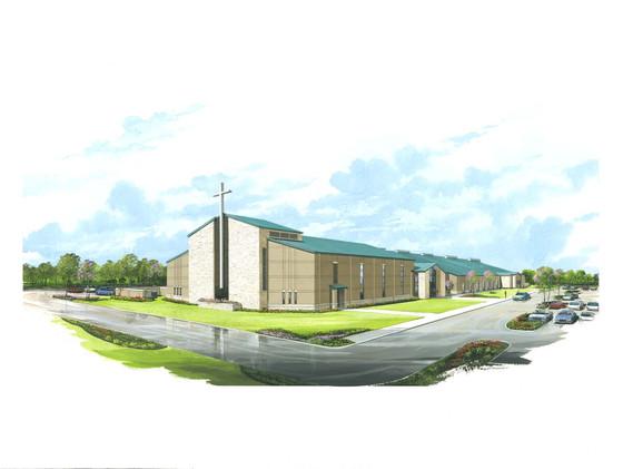 Cross Ridge Church | Frank Dale Construction