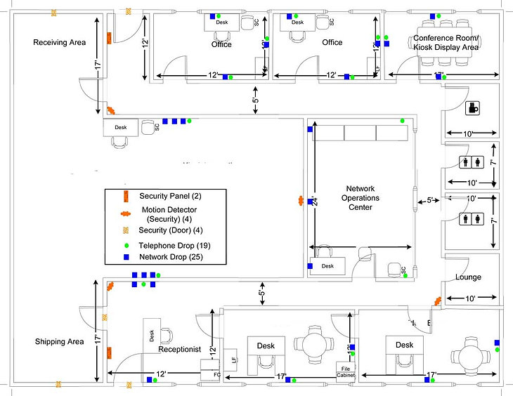 Floor Plan - Suite 105 - 205 Tyler Von Way, Fredericksburg, VA 22405