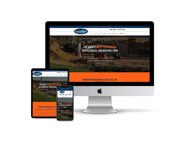 Web Design for Engineering Firm