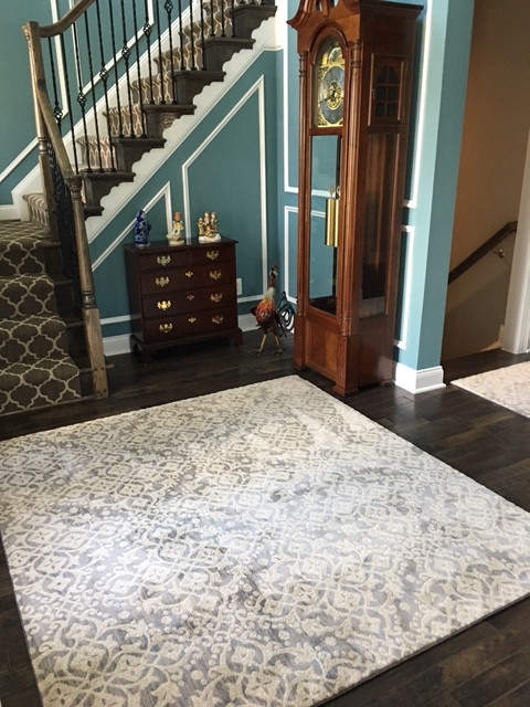 Area Rug with a Pattern