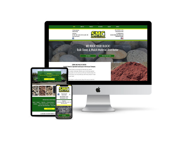 Website Design for Stone Supplier
