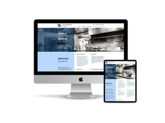 Website Design for Food Broker