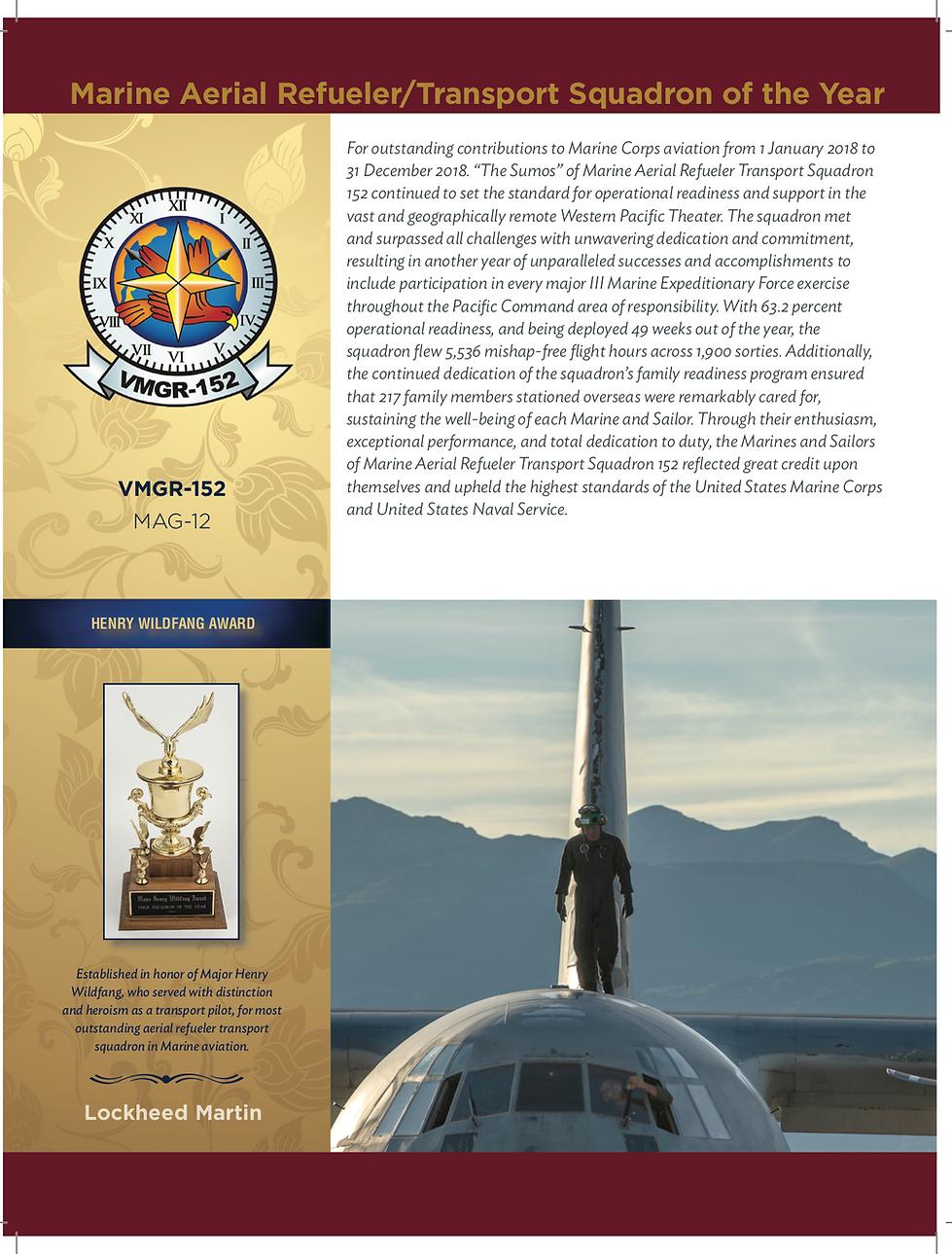 2019 Henry Wildfang Award