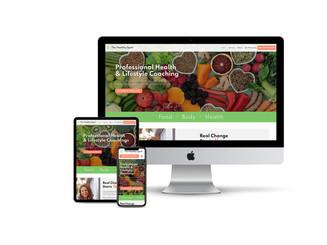 Website for Health Coach