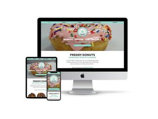 Website Design for Donut Shop
