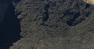 Stone and Mulch Center Black Dyed Mulch