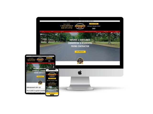 Website Design for Asphalt Contractor