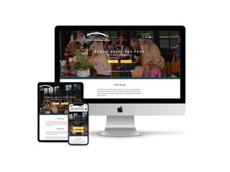 Website Design for Professional Society