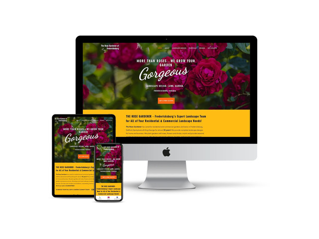 Website Design for Landscaper