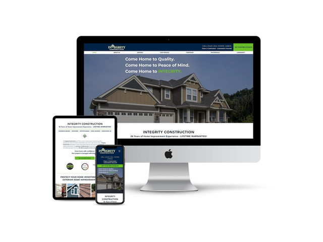 Web Design for Residential Contractor