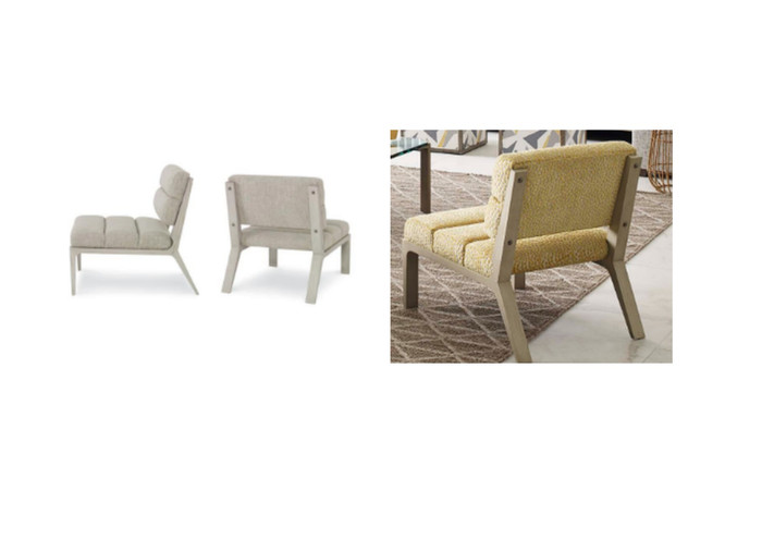 Re-Upholstery. Before and After. Courtesy of Kravet