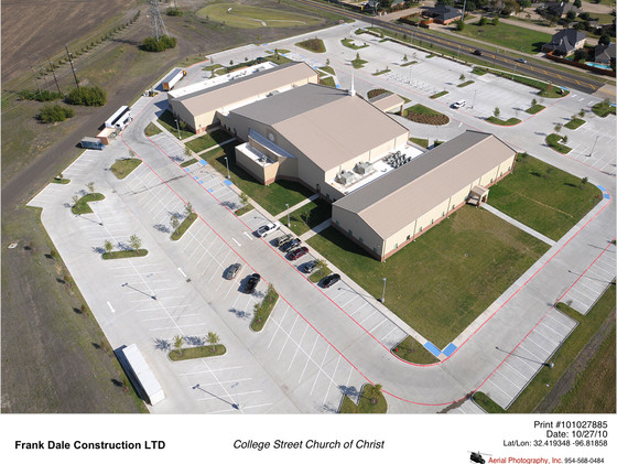 College Street Church of Christ | Frank Dale Construction