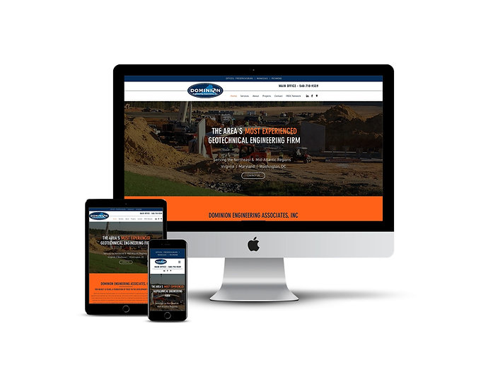 Web design for contractors
