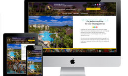Windsor Hills Custom web design for Vacation Rental Home Communi...