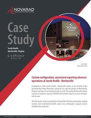 Sovah Health Martinsville VA Case Study Novarad technology