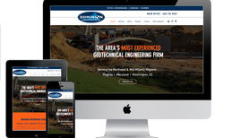 Dominion Engineering Associates Custom web design for professional geotechnical en...