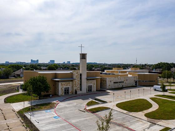Holy Cross Catholic Church Phase II | Frank Dale Construction