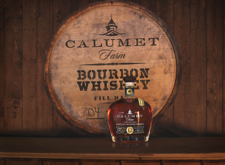 Calumet Farms Single Rack Black Kentucky Bourbon Whiskey