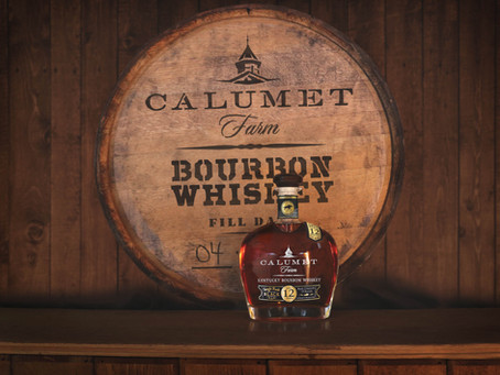 Calumet Farms Single Rack Black Kentucky Bourbon Whiskey