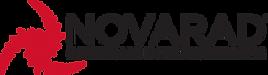 Novarad HEI Logo 2017 Red Swirl Black Te